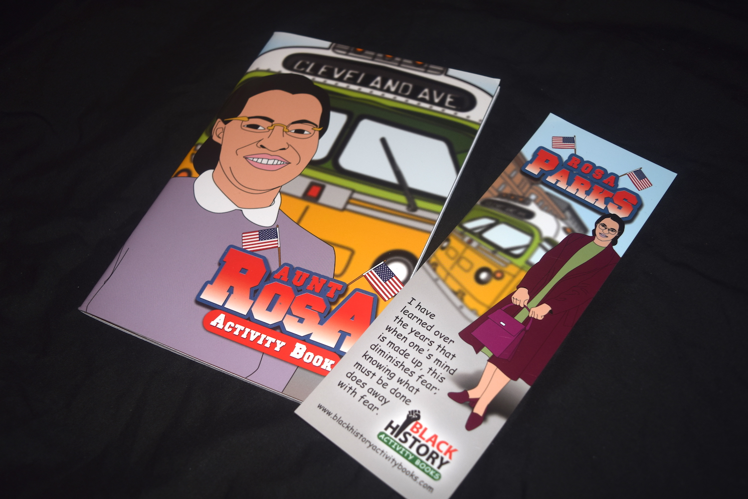 Black History Activity Books Gallery Image