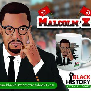Malcolm X Mug