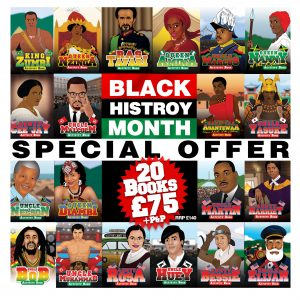 20 Books for £75 Black History Month Special